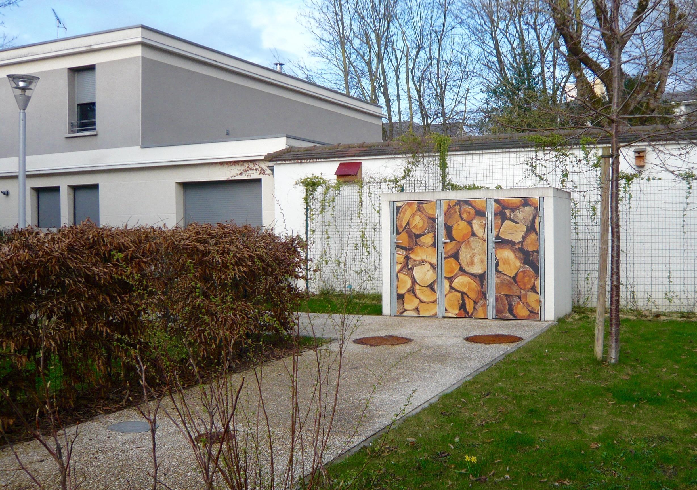 Local Poubelles En Trompe L Oeil Residence L Horizon Reims